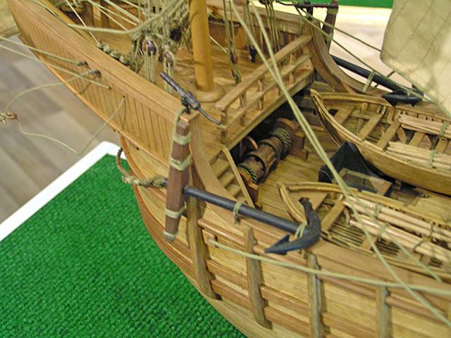"""供应实木帆船拼装套材--""""桑塔玛利亚号""""图片"""