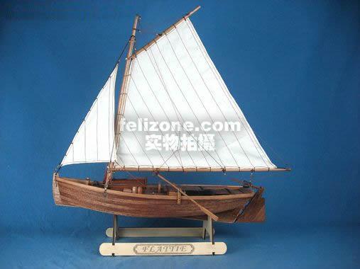 木质帆船模型图纸