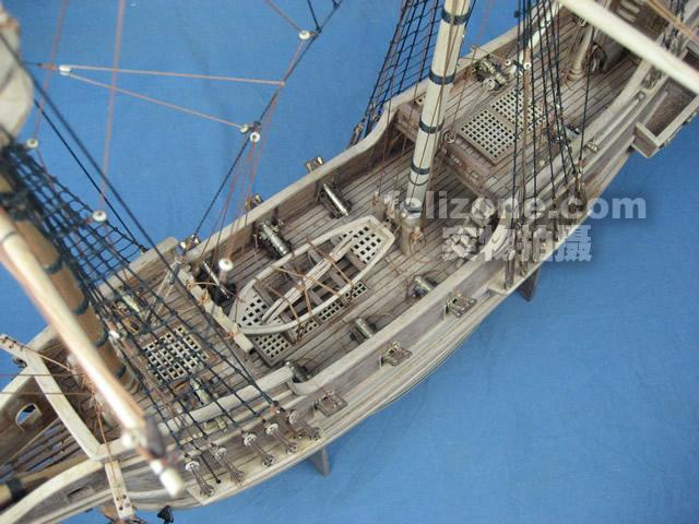 英国建造的三桅帆船