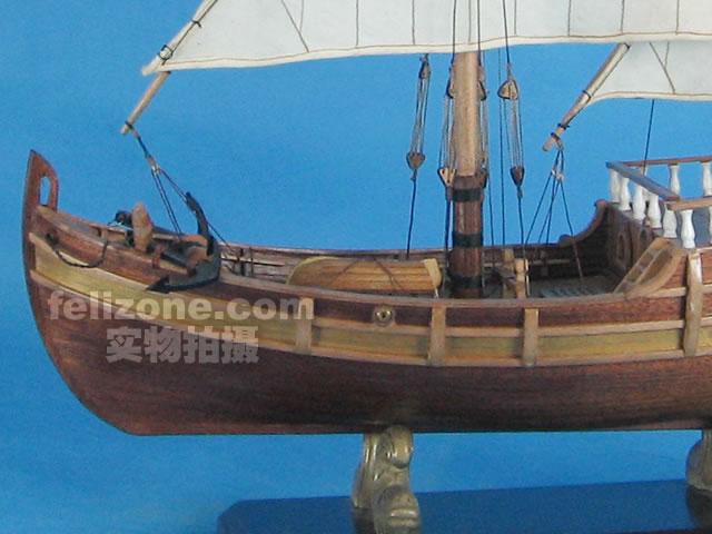 航海模型-供应实木帆船拼装套材--尼娜号-航海模型尽