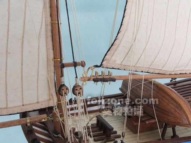 【信风模型】木质帆船模型拼装套材--法国