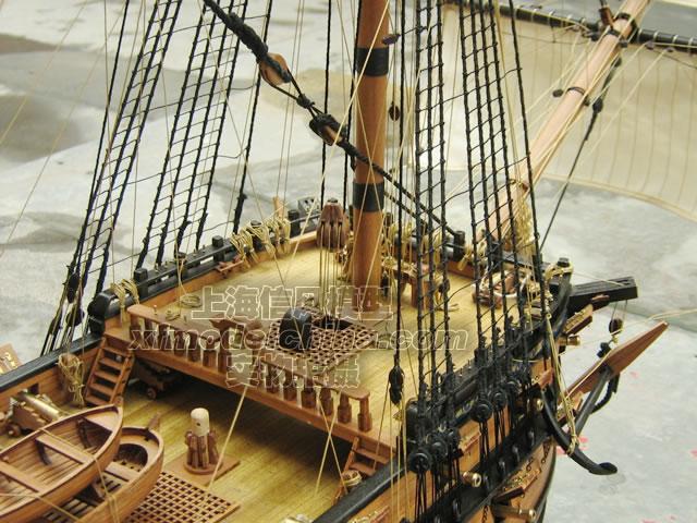 【信风模型】木质帆船模型拼装套材--彼得大帝英格尔
